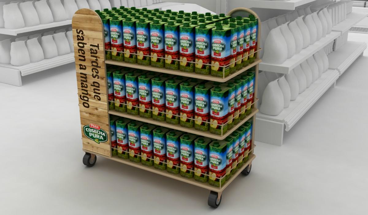 exhibiciones adicionales en supermercados